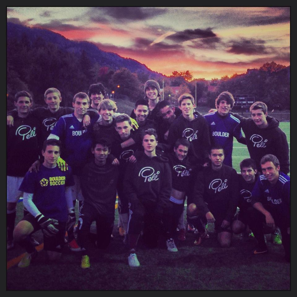 Boulder High Boys Soccer 2013